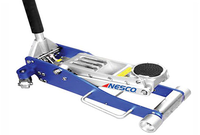 Nesco Tools 2203 Aluminum Low Profile Floor Jack