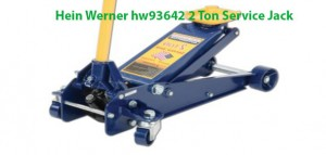 The Hein-Werner HW93652 Blue Heavy Duty Service Jack with 3 Ton lift Capacity